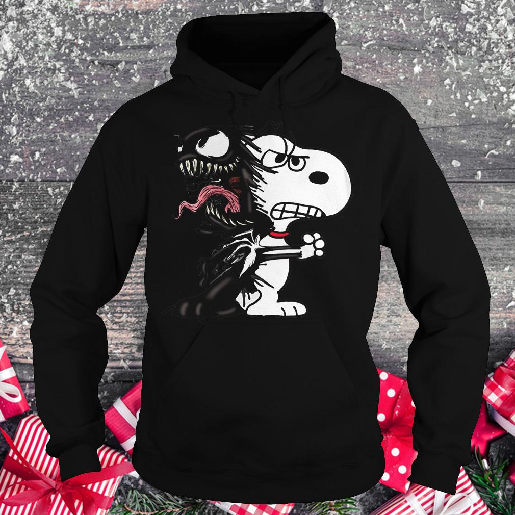 Snoopy Venom Marvel shirt Hoodie