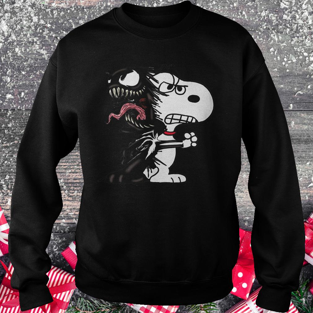 Snoopy Venom Marvel shirt Sweatshirt Unisex