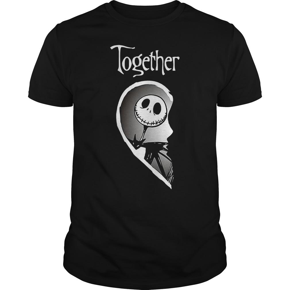Together Jack Skellington shirt