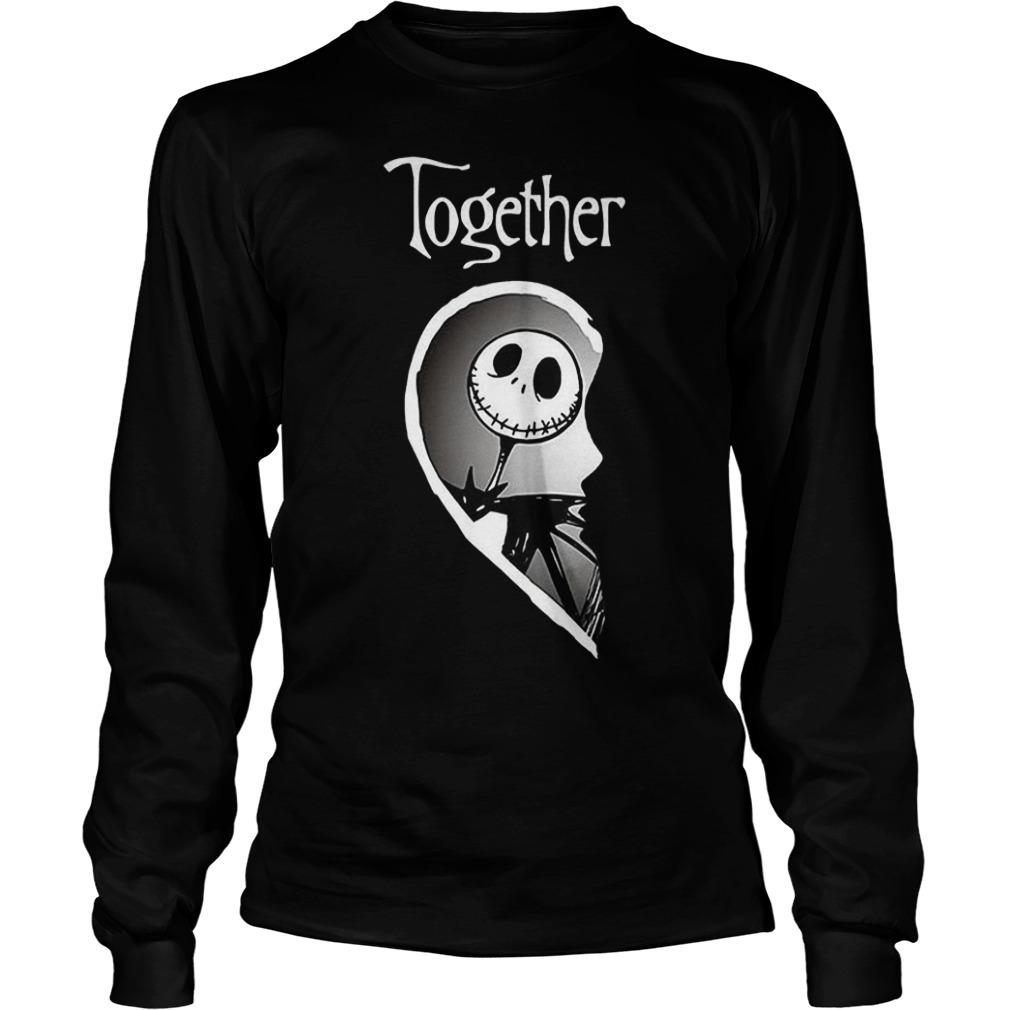 Together Jack Skellington shirt Longsleeve Tee Unisex