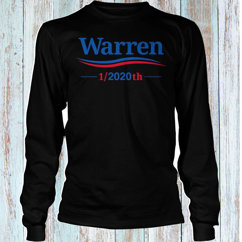 Warren 1/2020th shirt Longsleeve Tee Unisex