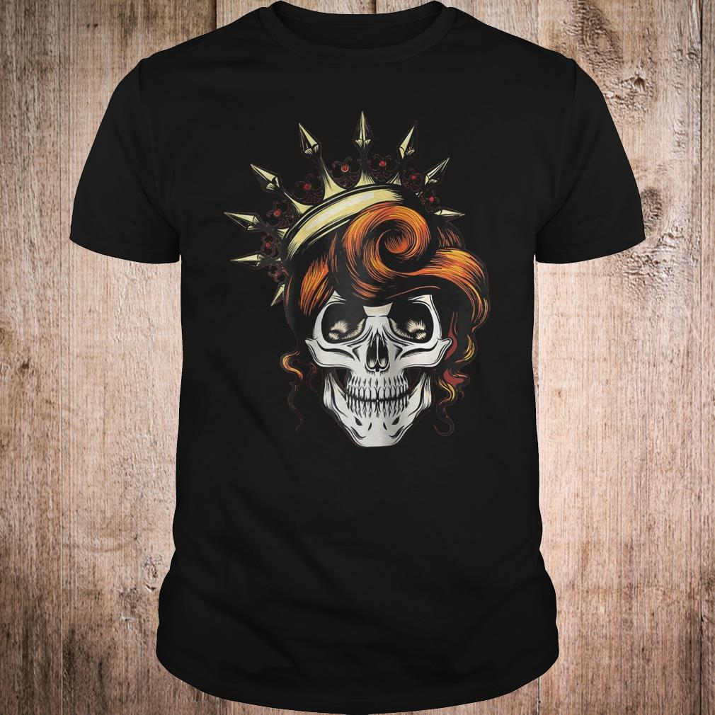 Womens Skeleton Queen Shirt