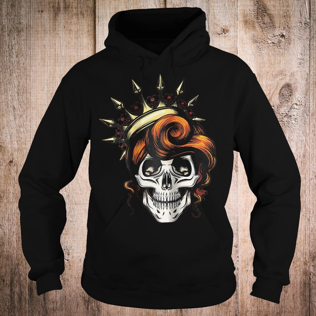 Womens Skeleton Queen shirt Hoodie