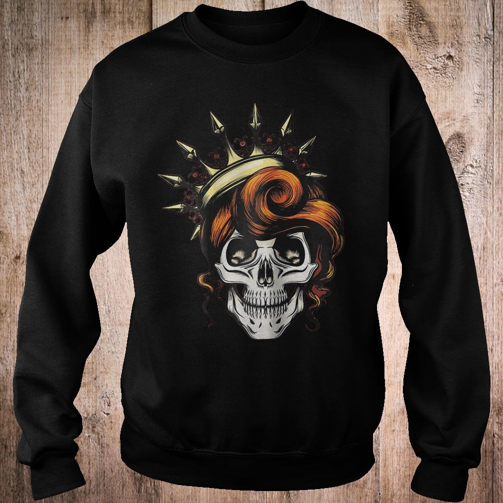 Womens Skeleton Queen shirt Sweatshirt Unisex