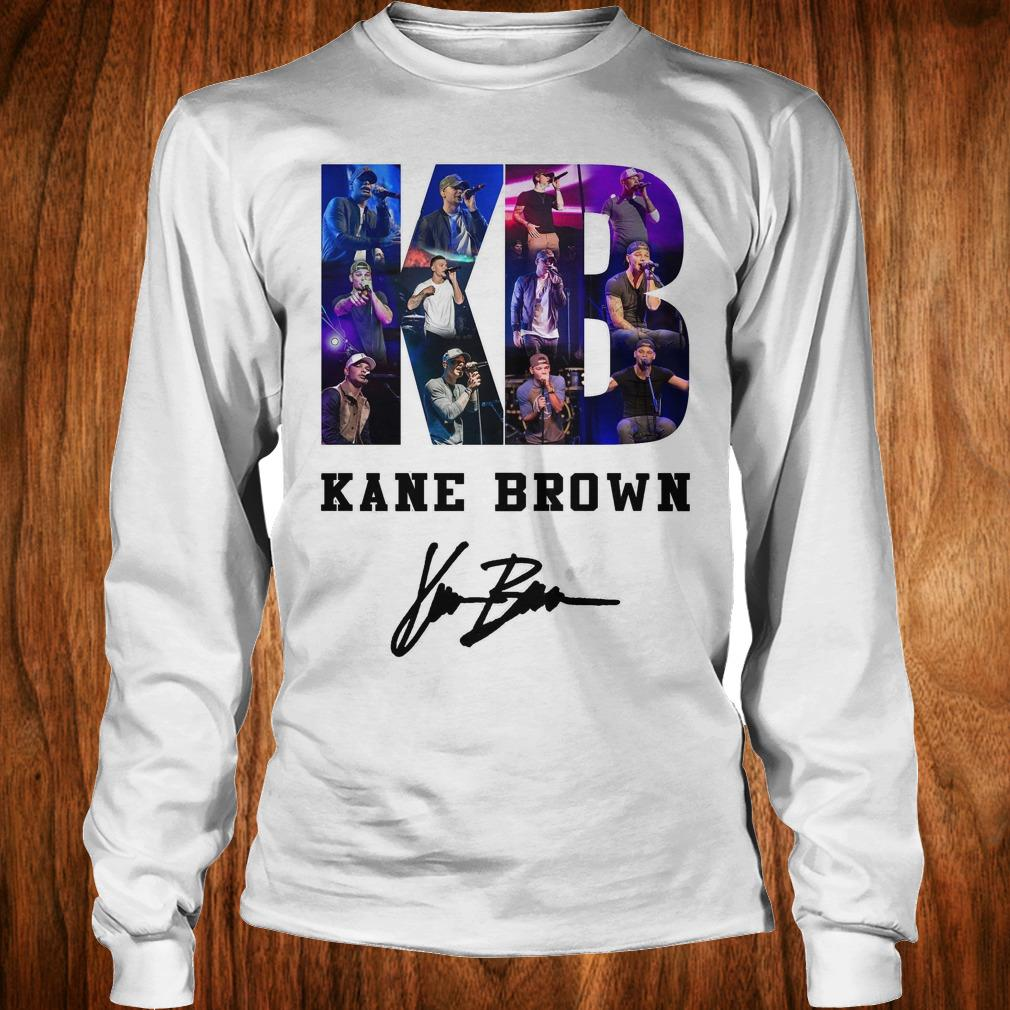 Awesome Kane Brown Signed Autograph shirt