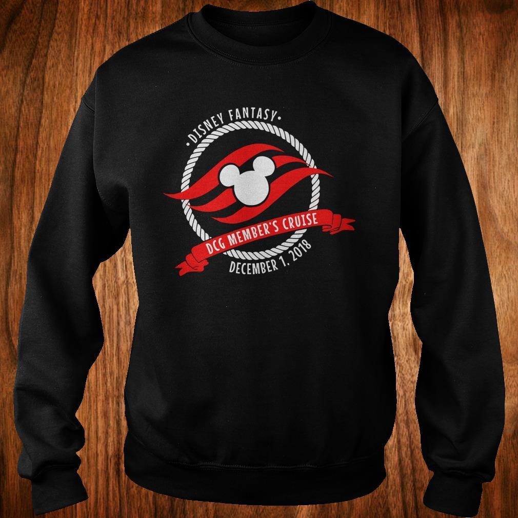 Best Price Disney fantasy DCG Member's Cruise shirt Sweatshirt Unisex