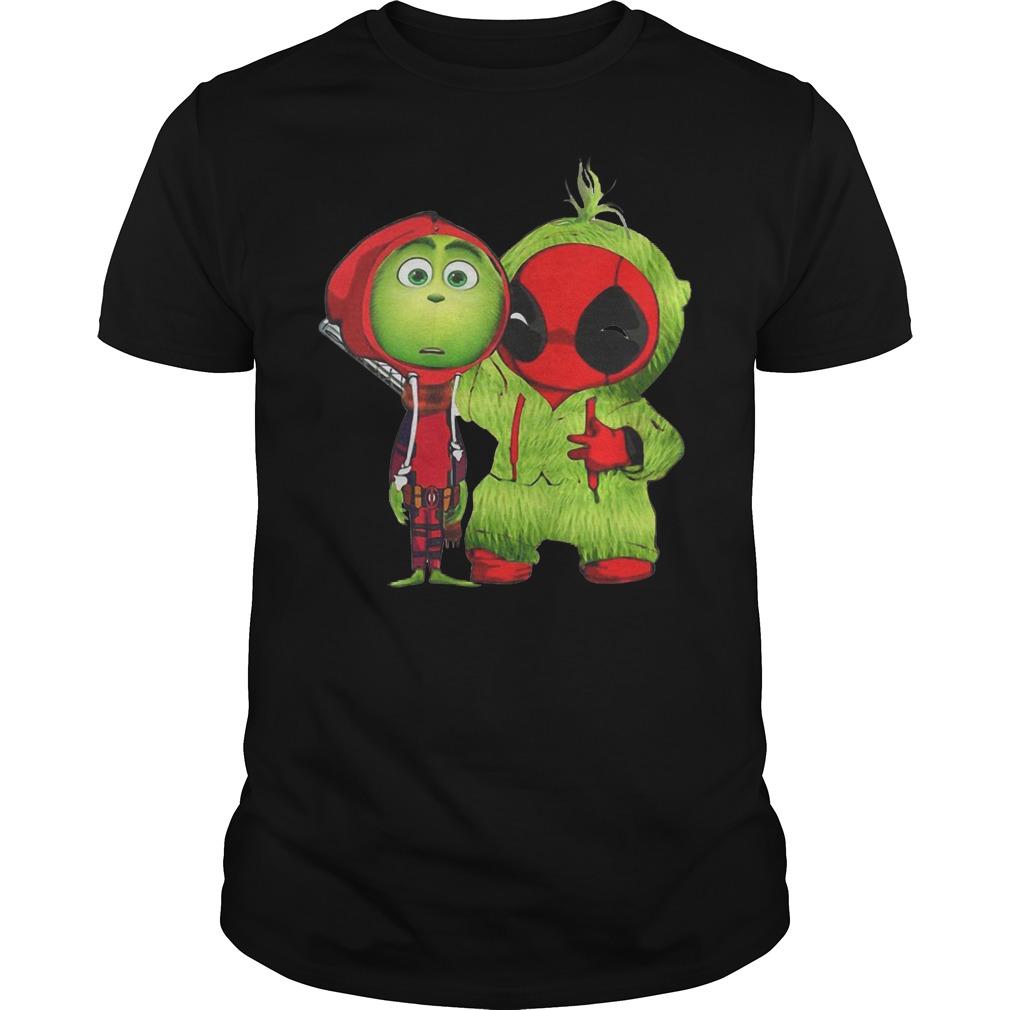 Best Price Grinch Baby Deadpool shirt Classic Guys / Unisex Tee