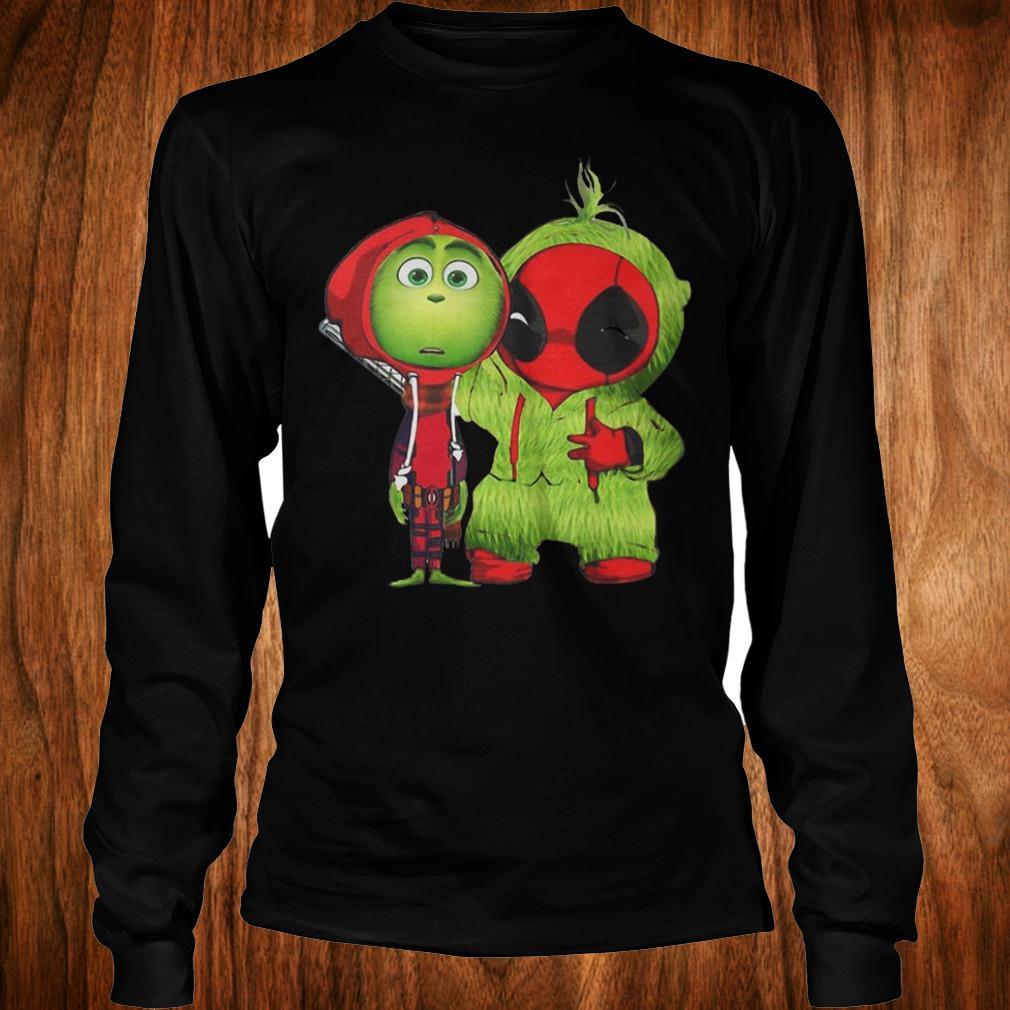 Best Price Grinch Baby Deadpool shirt Longsleeve Tee Unisex