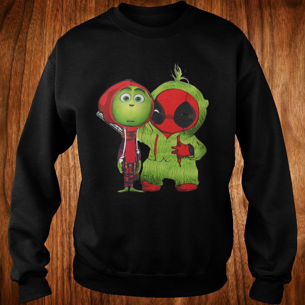 Best Price Grinch Baby Deadpool shirt Sweatshirt Unisex
