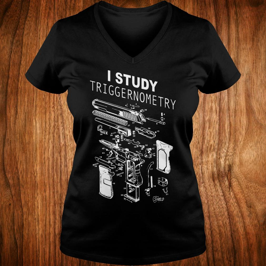 Best Price I Study Triggernometry shirt Ladies V-Neck
