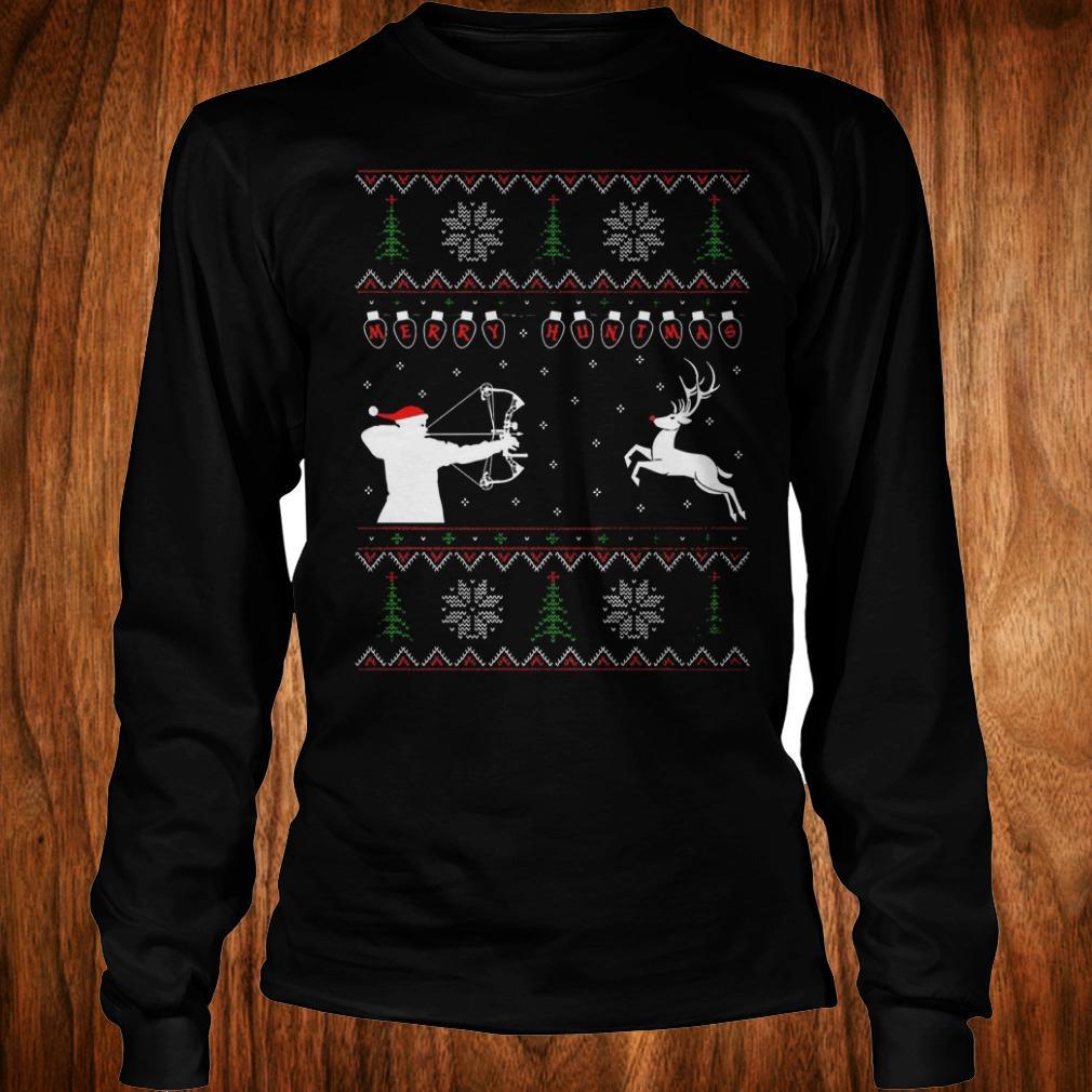 Best Price Merry huntmas sweater Longsleeve Tee Unisex