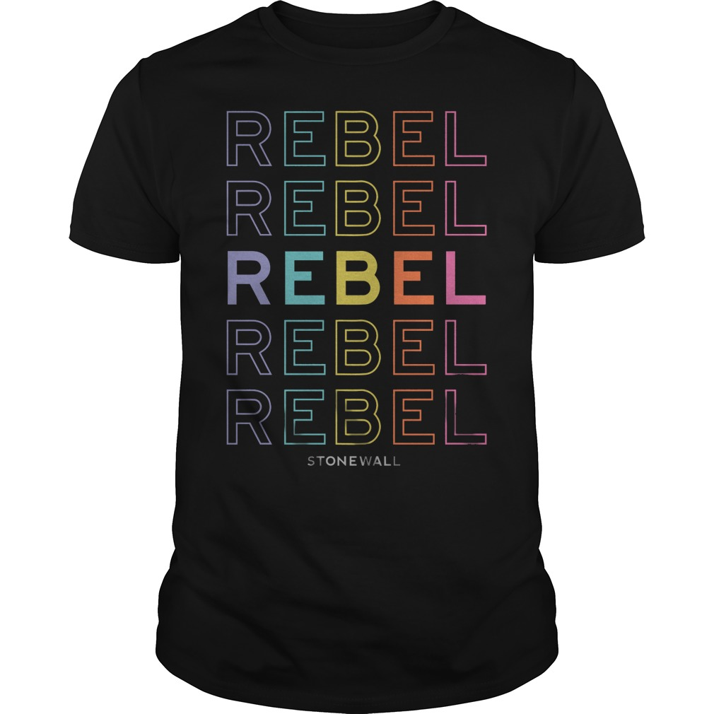 Best Price Rebel Stonewall Pride Live Nation shirt