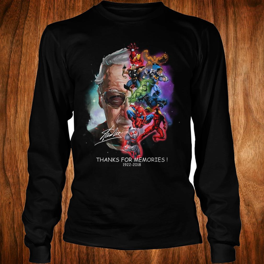 Best Price Stan Lee Father Of Marvel shirt Longsleeve Tee Unisex