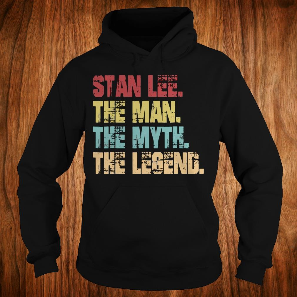 Best Price Stan Lee The Man The Myth The Legend shirt