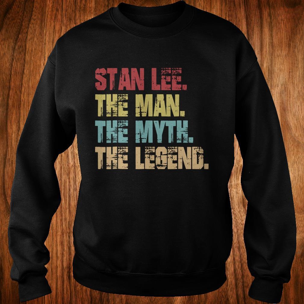 Best Price Stan Lee The Man The Myth The Legend shirt Sweatshirt Unisex