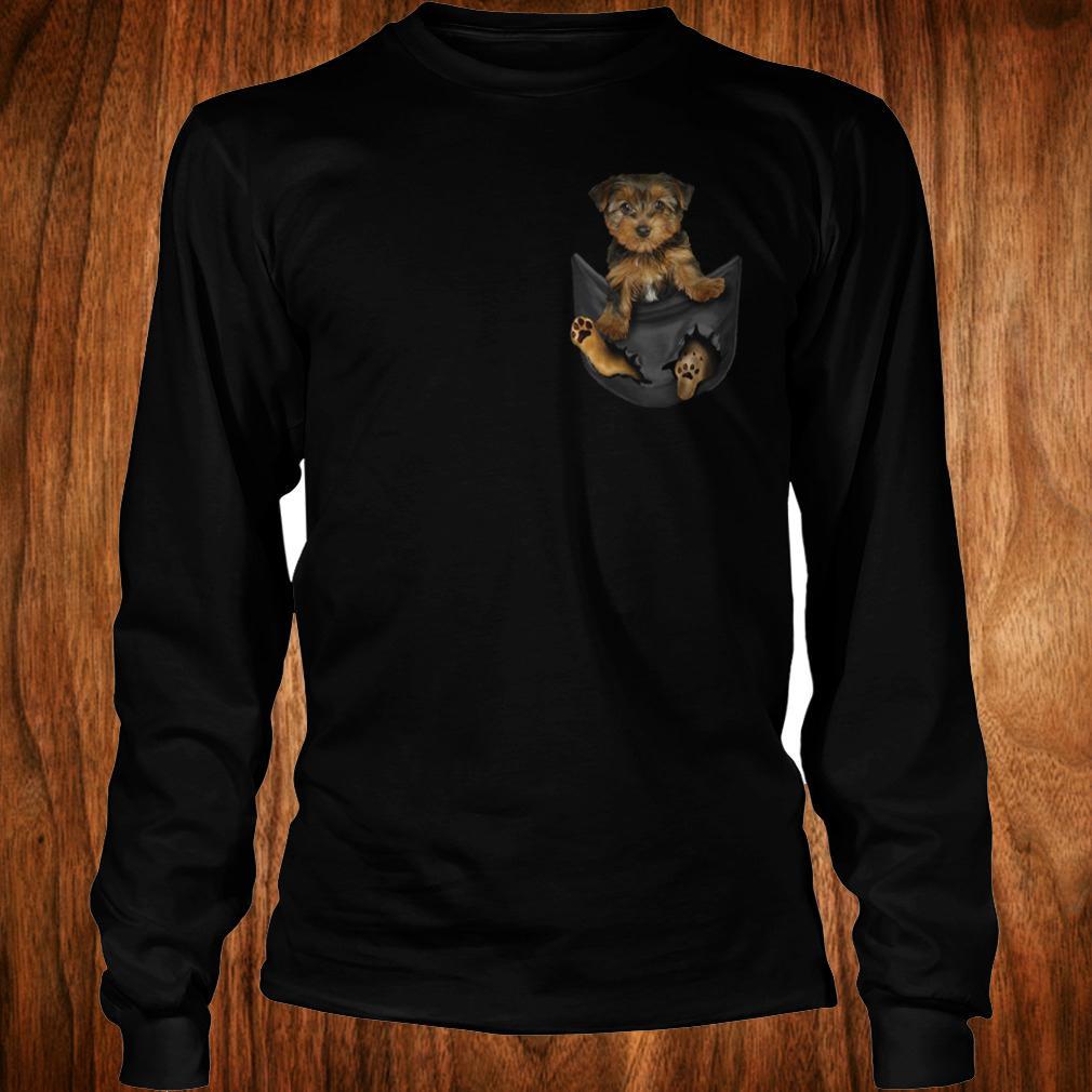 Best Price Yorkies Tiny Pocket shirt Longsleeve Tee Unisex