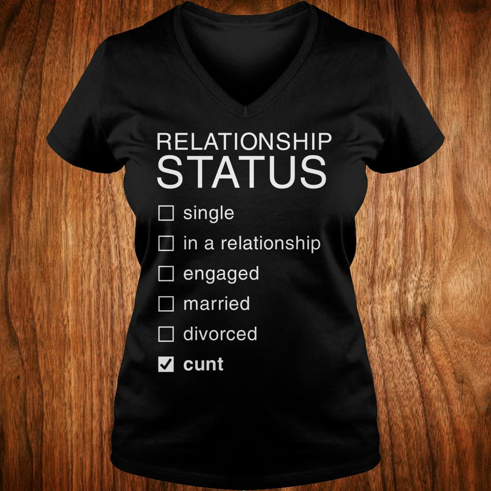 Best price Relationship Status Cunt shirt Ladies V-Neck