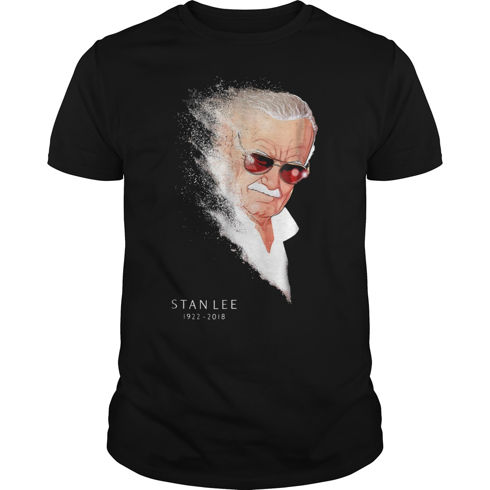 Cute Shirt Stan Lee Infinity War Thanos Disintegration shirt Classic Guys / Unisex Tee