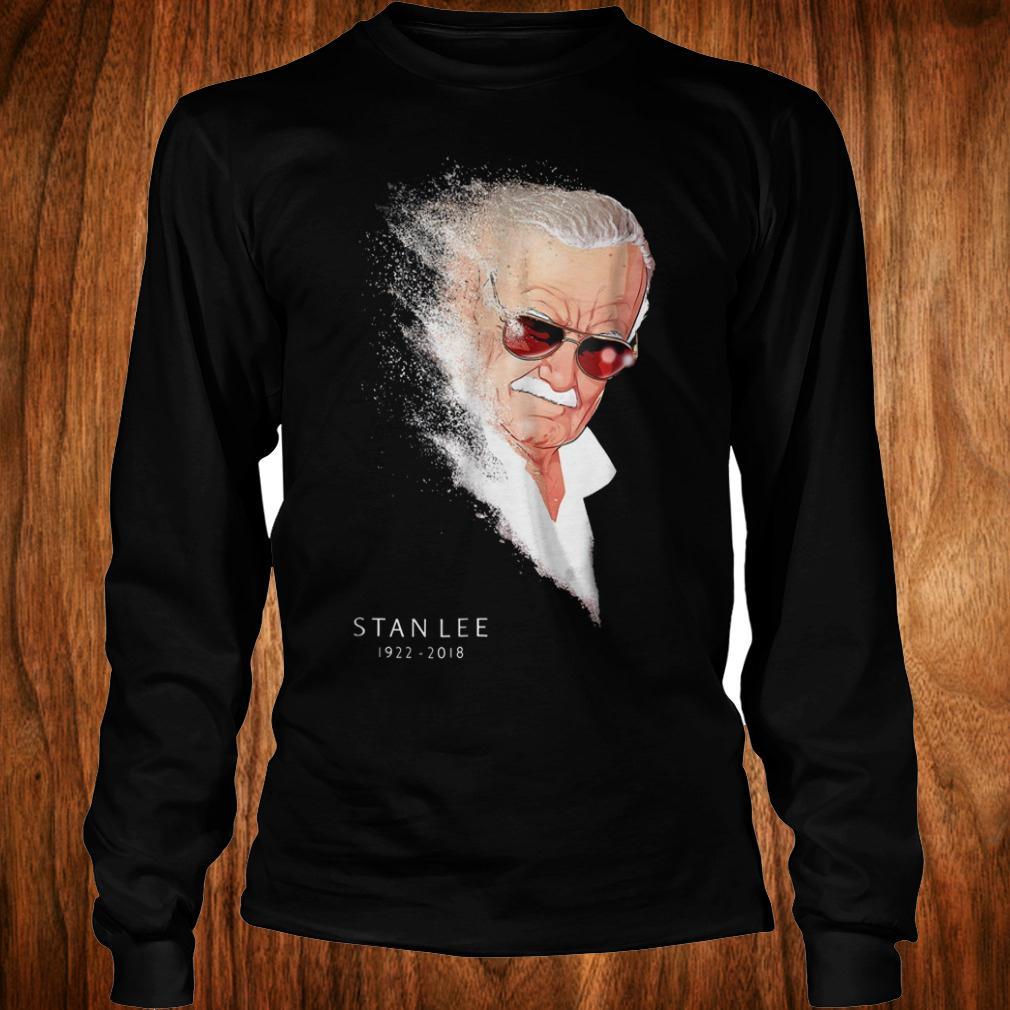 Cute Shirt Stan Lee Infinity War Thanos Disintegration shirt Longsleeve Tee Unisex