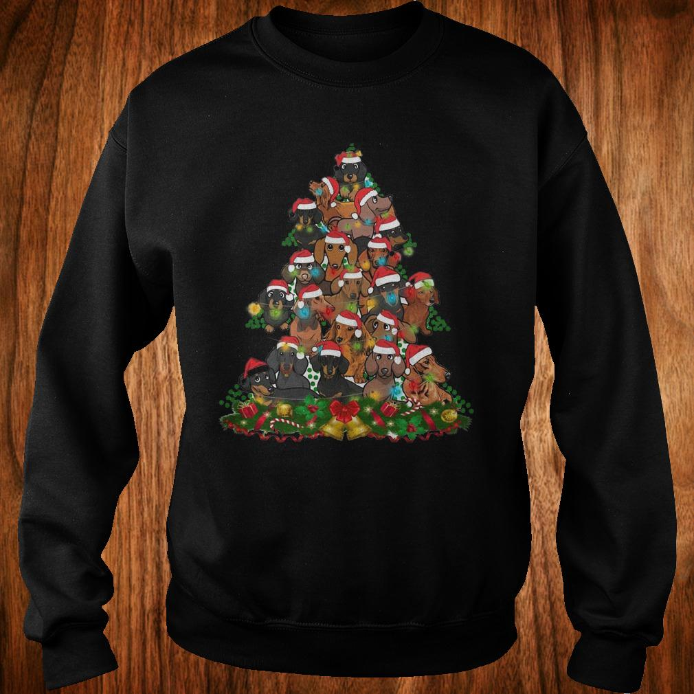 Dachshunds Christmas Tree shirt Sweatshirt Unisex