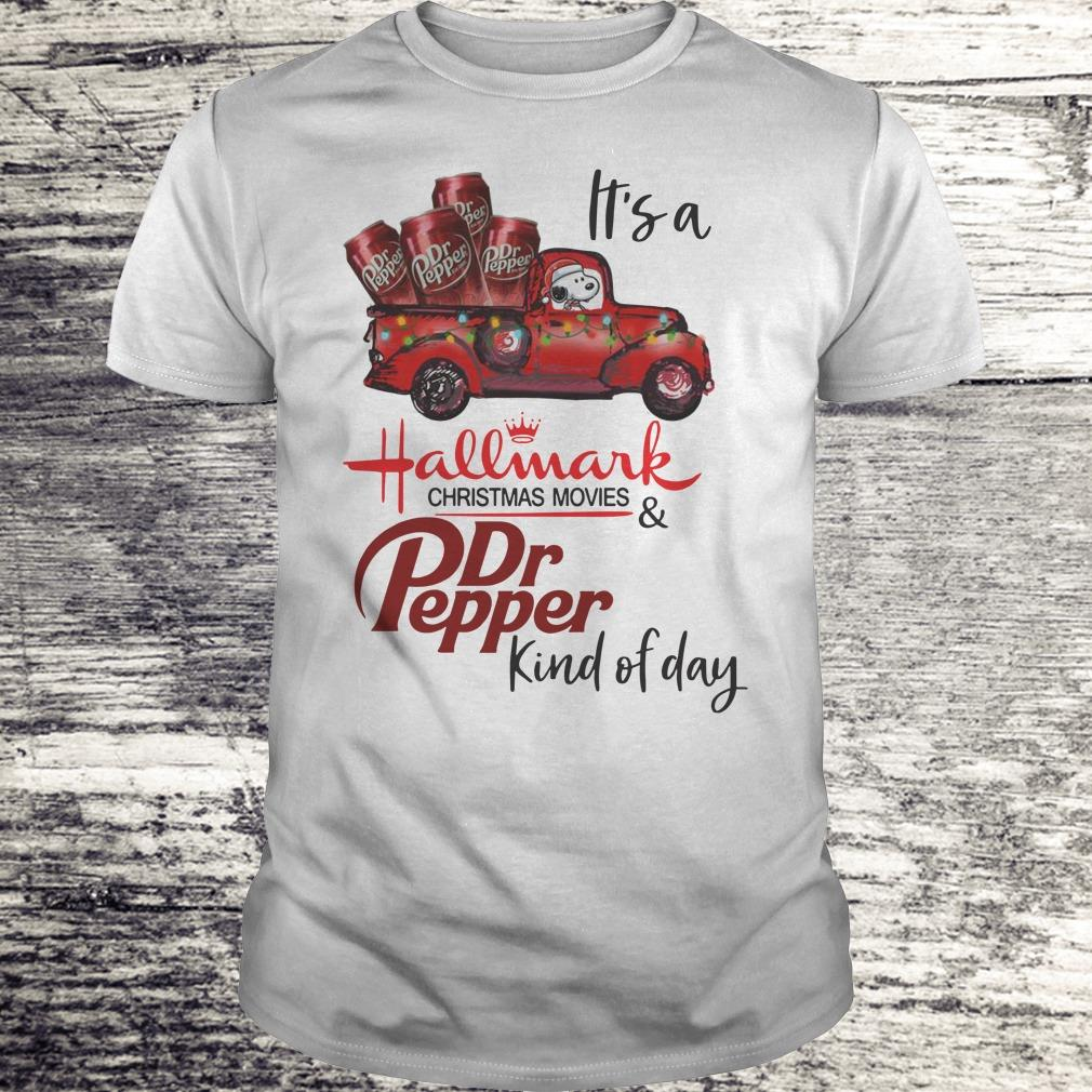 Nice It's a Hallmark christmas movies Dr Pepper kind of day shirt Classic Guys / Unisex Tee