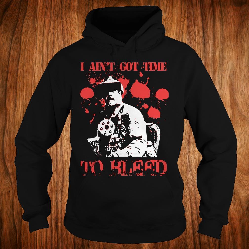 Official Predator Blain Cooper I ain't got time to bleed shirt