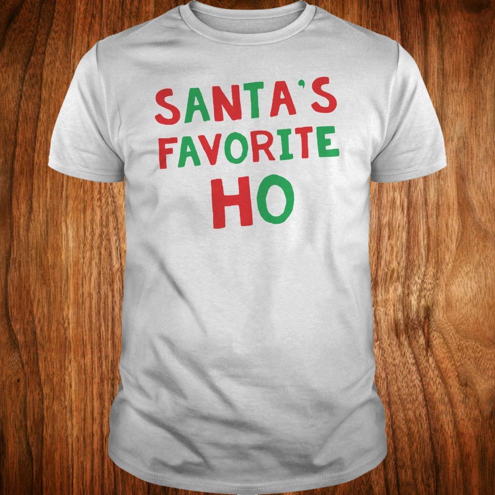 Official Santa's Favorite Ho shirt Classic Guys / Unisex Tee
