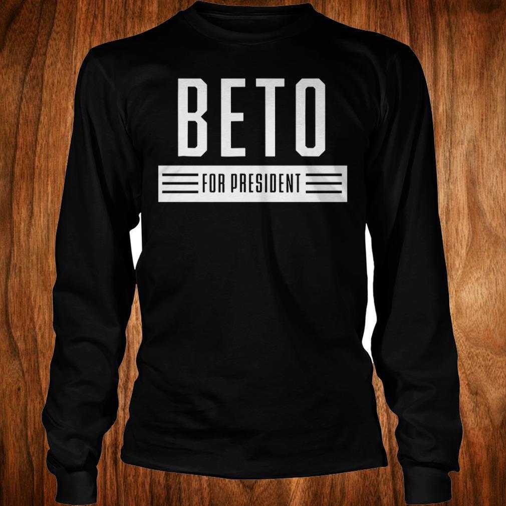 Original Beto For President 2020 USA Elections Vote ORourke shirt