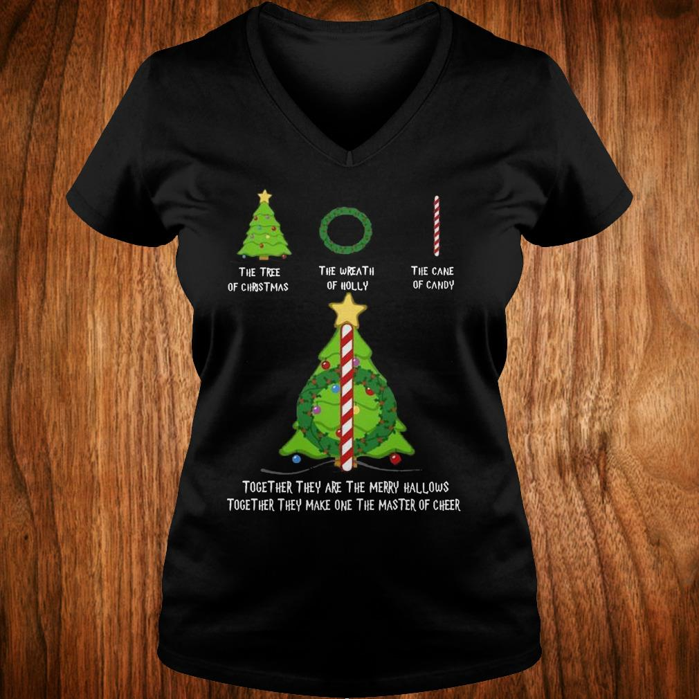 Original Grinch You Curse Too Much Bitch, You Breathe Too Much Shut the fuck up shirt Ladies V-Neck