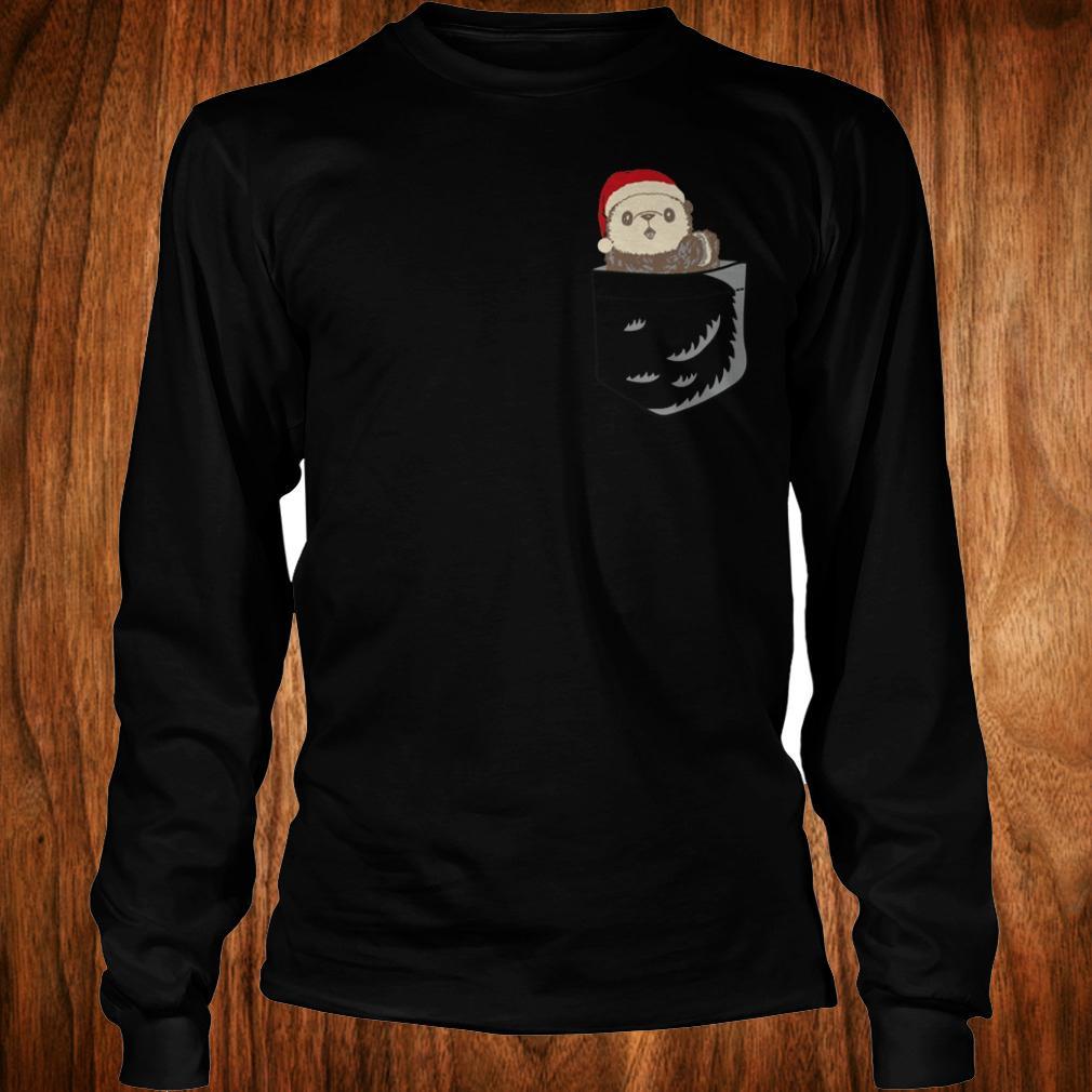 Original Pocket Ottermas shirt Longsleeve Tee Unisex