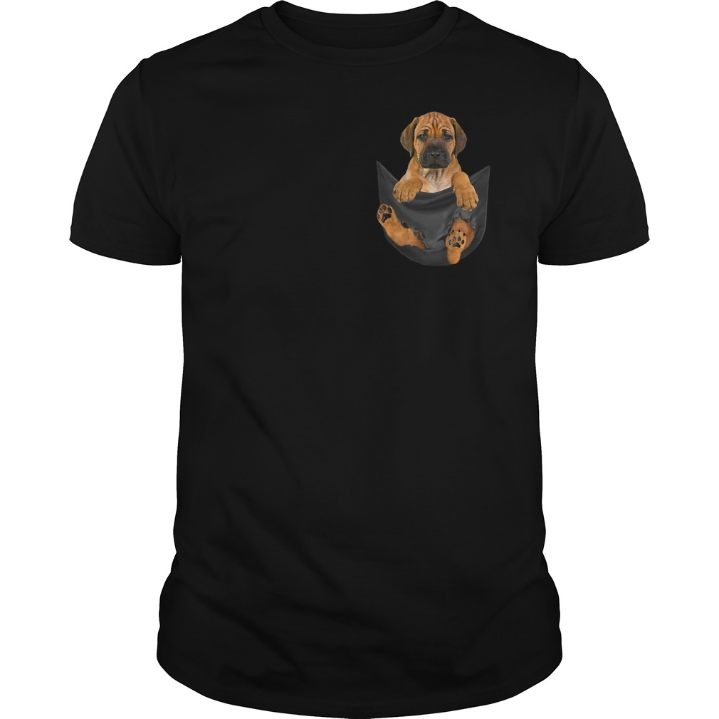Original Rhodesian Ridgeback in Tiny Pocket shirt