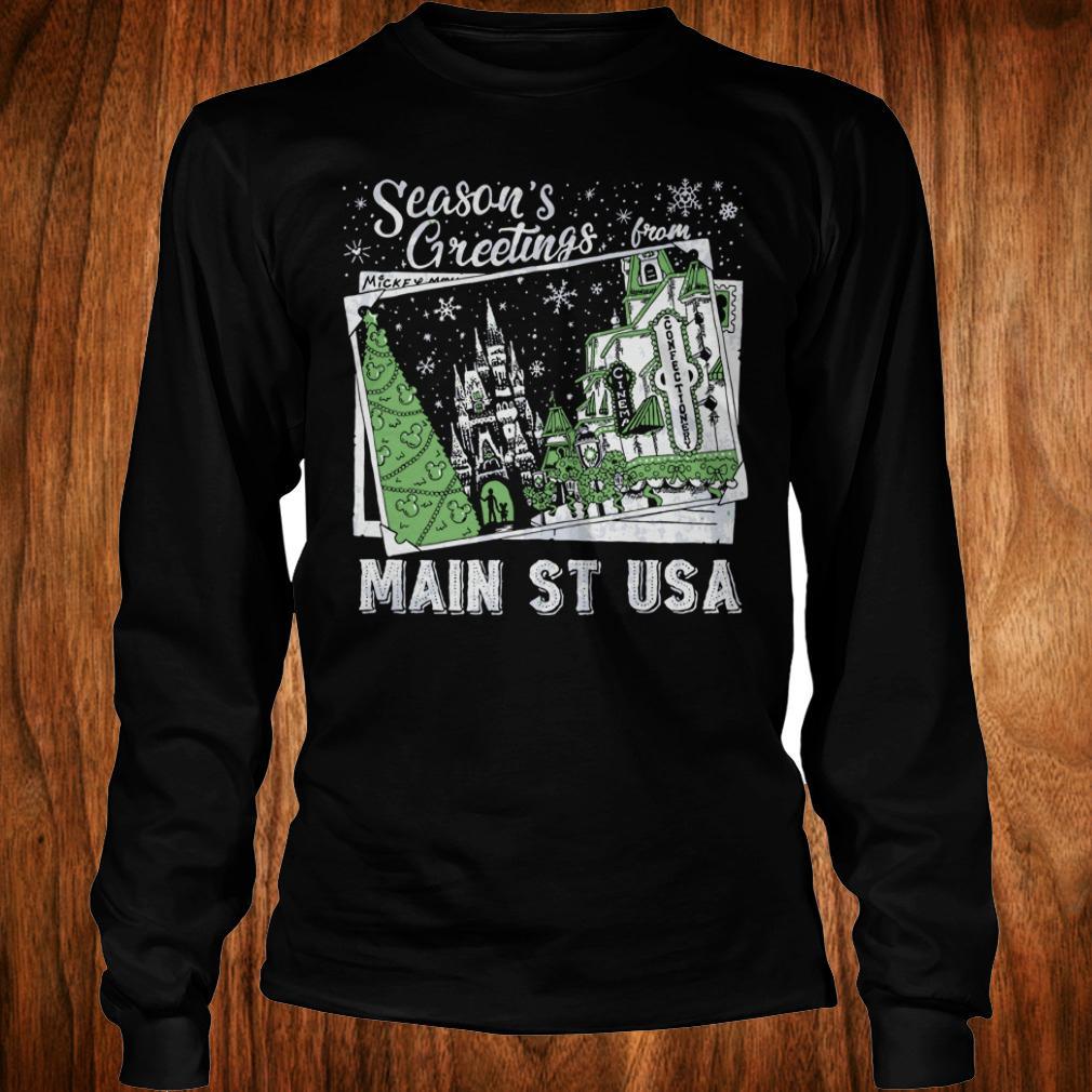Original Season's Greetings from Main St USA shirt Longsleeve Tee Unisex