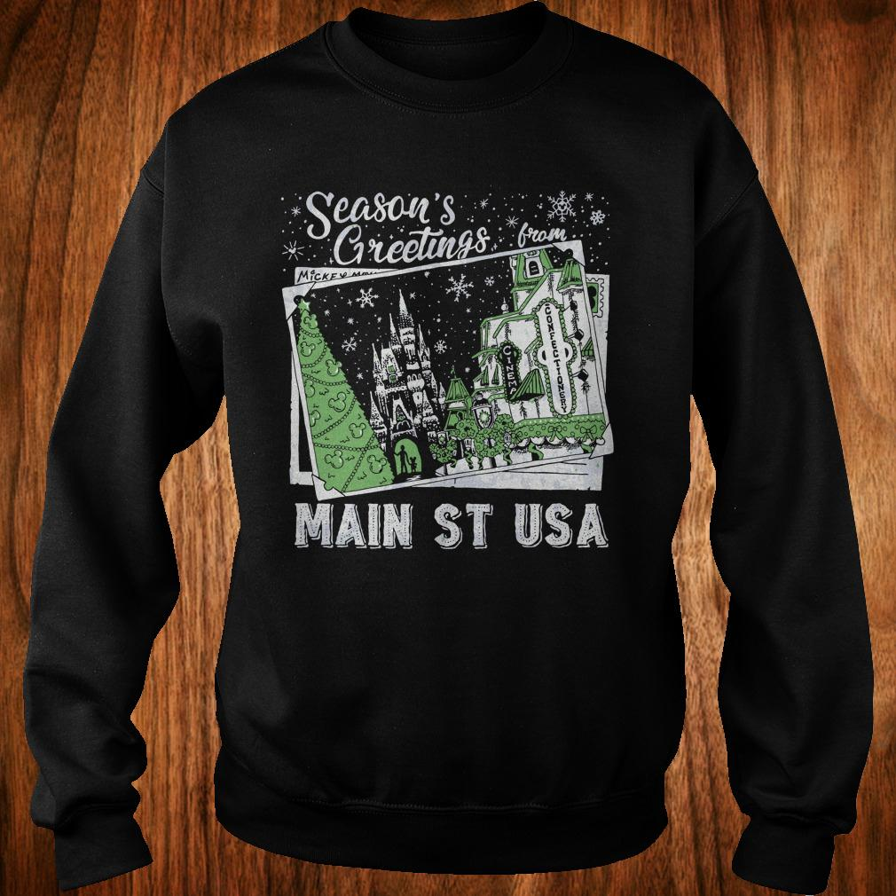 Original Season's Greetings from Main St USA shirt Sweatshirt Unisex
