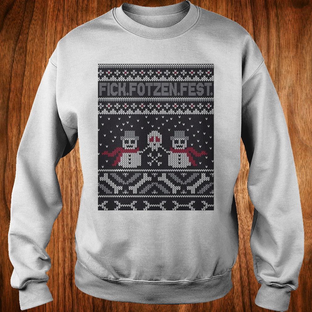 Premium Fick Fotzen Fest Ugly Sweater Sweatshirt Unisex
