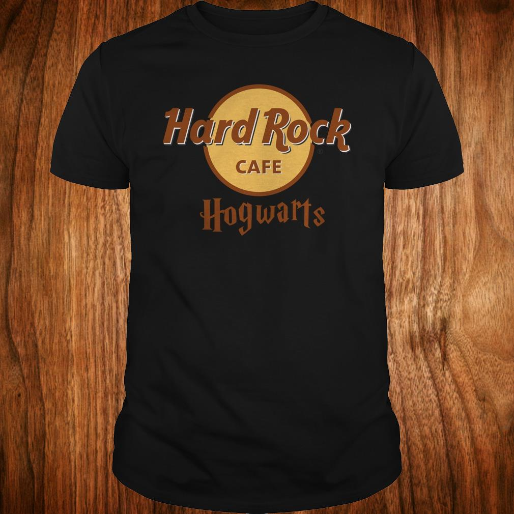 Premium Harry Potter hard Rock cafe Hogwarts shirt