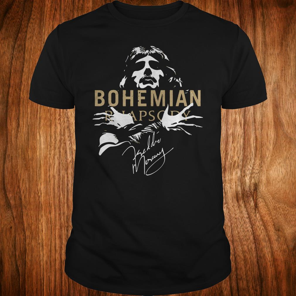 The Best Bohemian Rhapsody Signature shirt Classic Guys / Unisex Tee