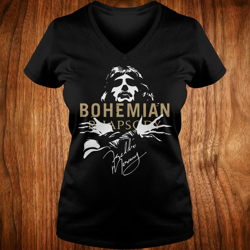 The Best Bohemian Rhapsody Signature shirt Ladies V-Neck