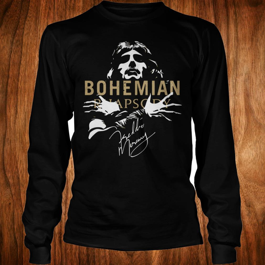 The Best Bohemian Rhapsody Signature shirt Longsleeve Tee Unisex