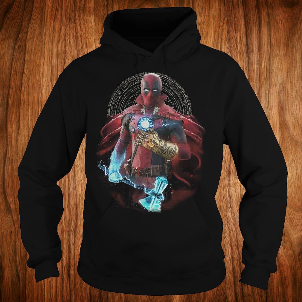 The best Avengers Infinity Deadpool Doctor Strange Iron Man Thanos Thor shirt Hoodie