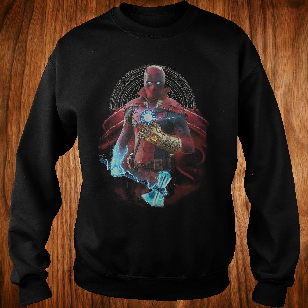 The best Avengers Infinity Deadpool Doctor Strange Iron Man Thanos Thor shirt Sweatshirt Unisex