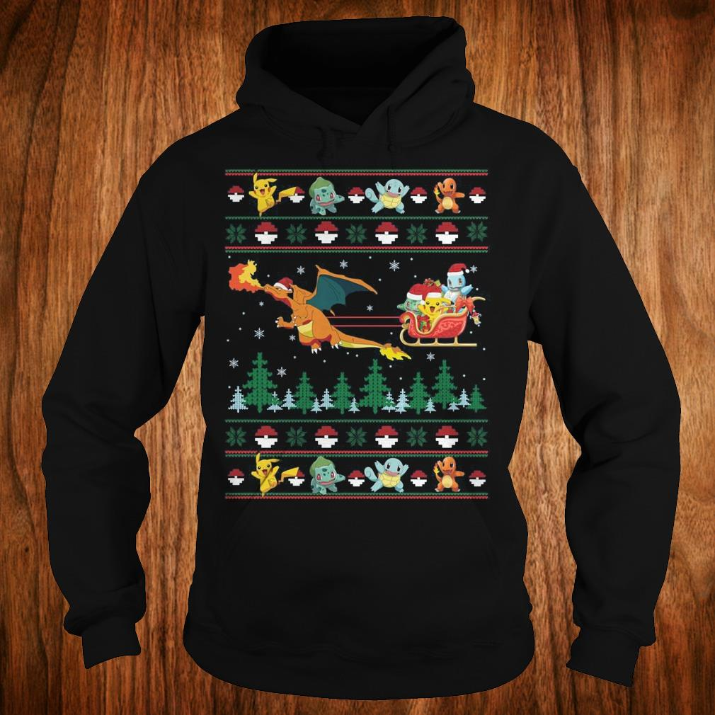 Top Christmas Pokemon Sweater shirt Hoodie
