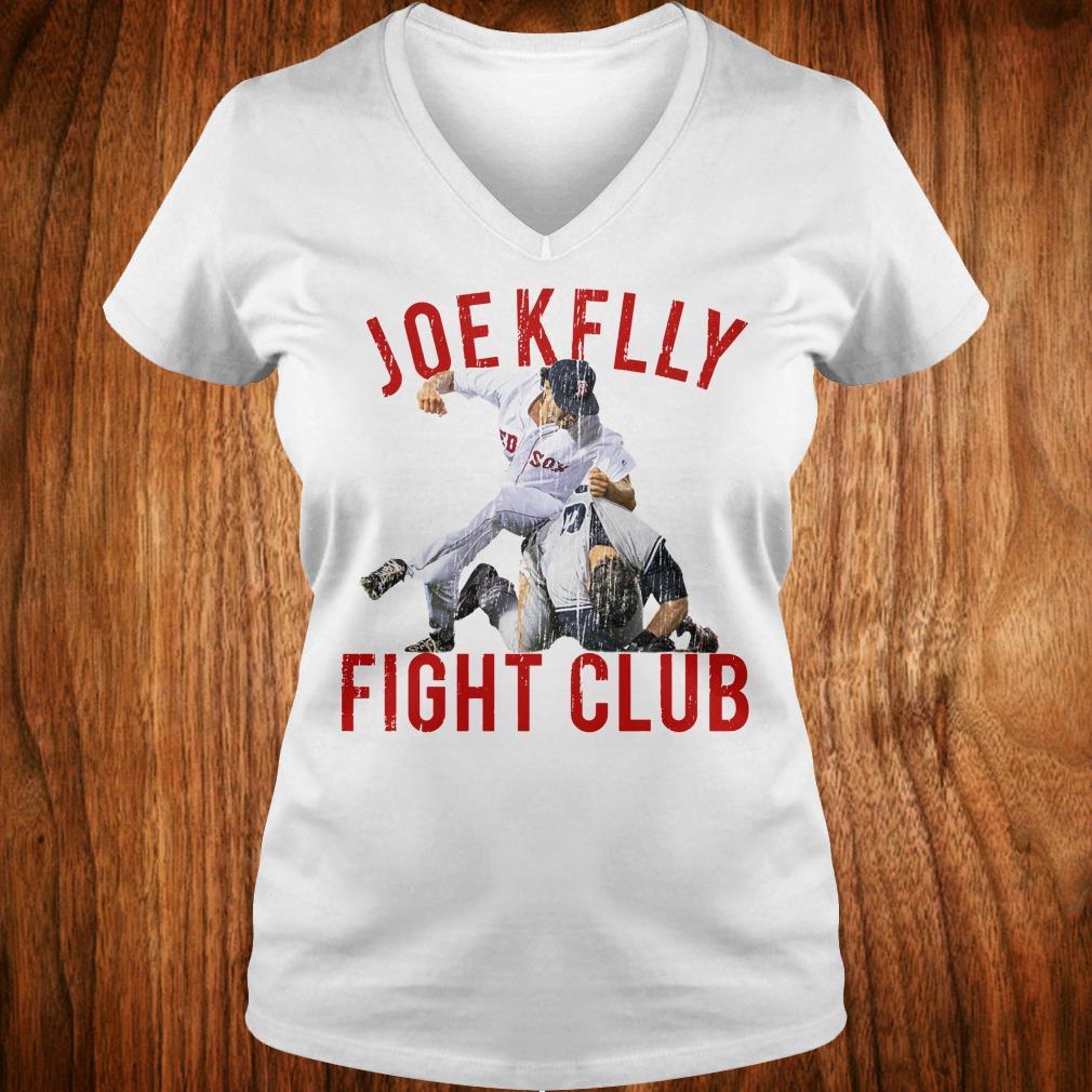 Top Joe Kelly Fight Boston Baseball Club shirt Ladies V-Neck