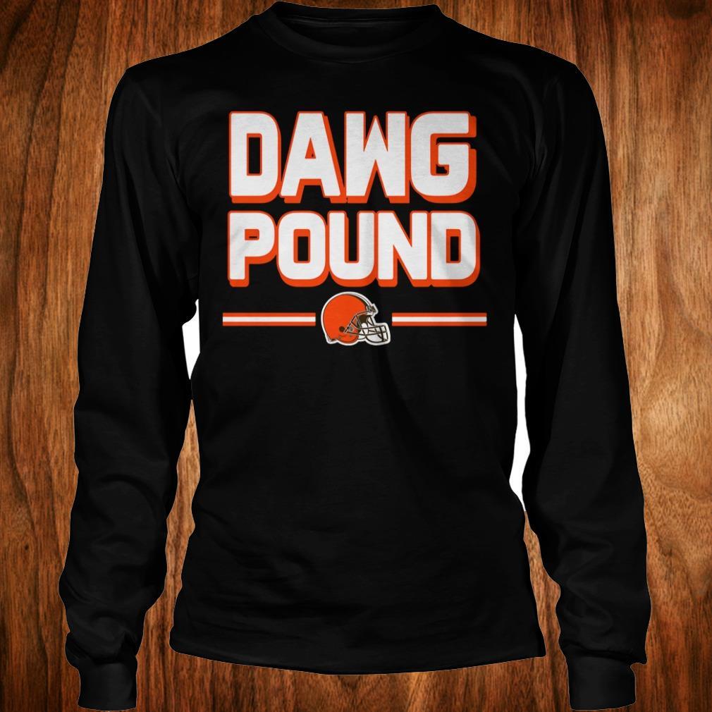 Top l Cleveland Dawg Pound shirt Longsleeve Tee Unisex