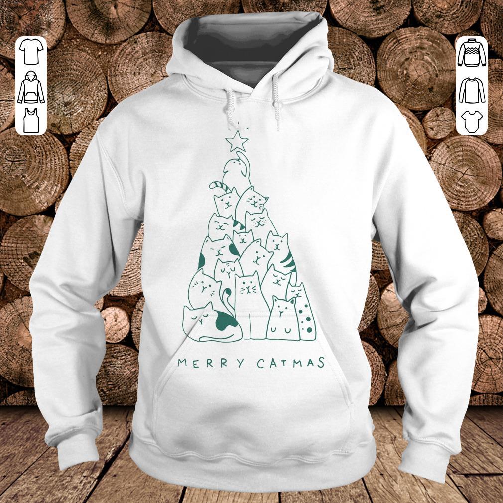 Funny Merry catmas shirt hoodie Hoodie