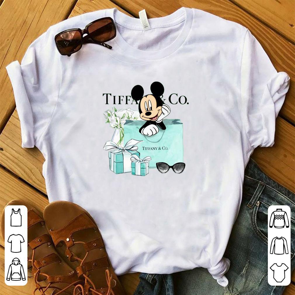 Cute Mickey Mouse Tiffany & CO shirt