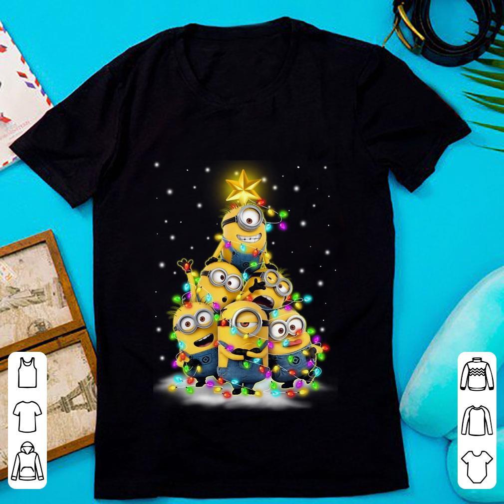 Original Minions Christmas Tree shirt