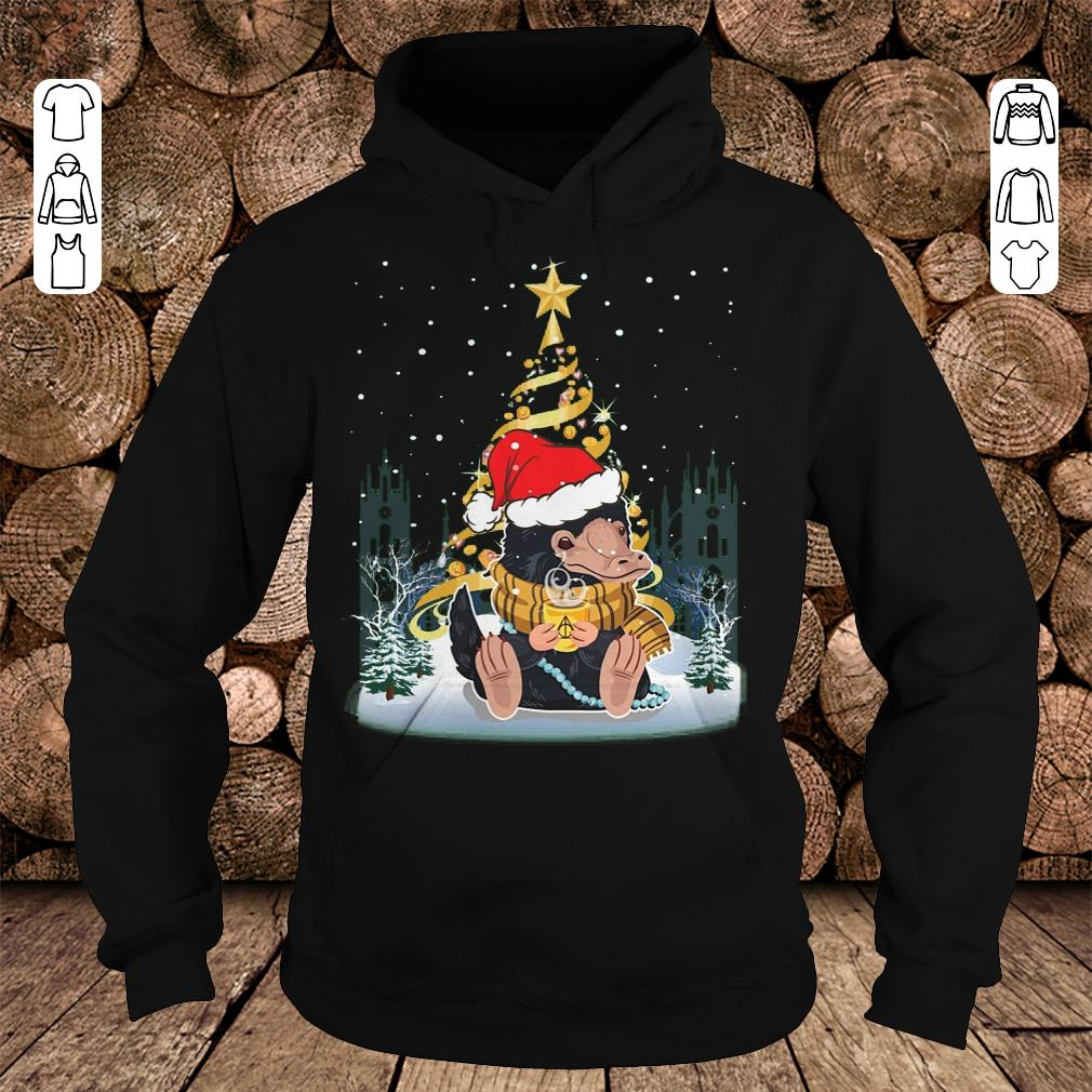 Nice Christmas tree Under Snow Niffler Santa Hat shirt sweatshirt Hoodie