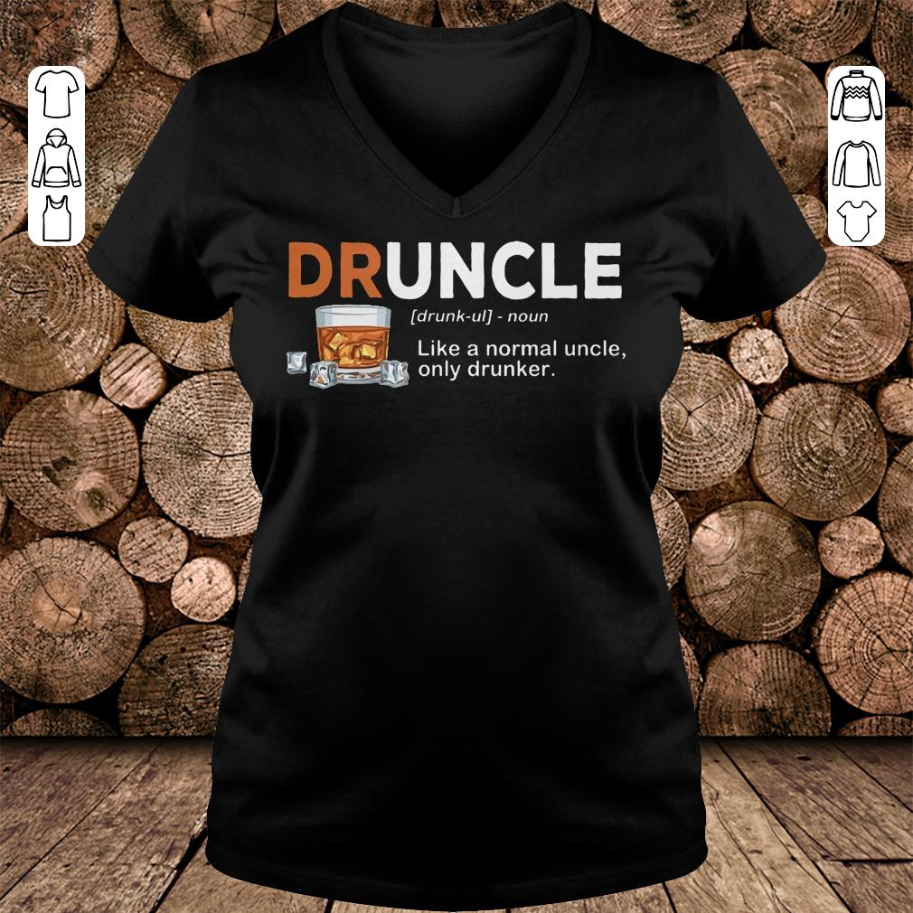 Original Druncle Definition Shirt Sweatshirt Ladies V Neck 2.jpg