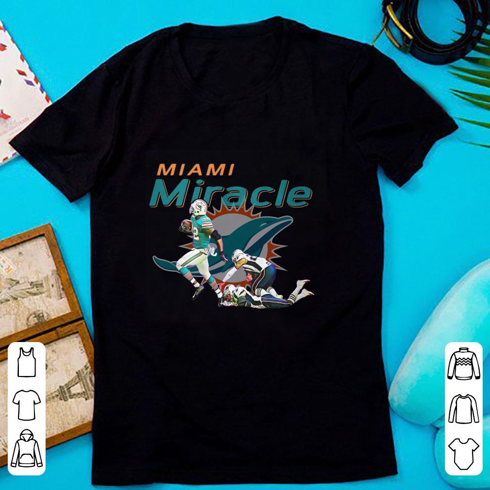 Funny The Miami Miracle: Kenyan Drake Beats The Patriots shirt