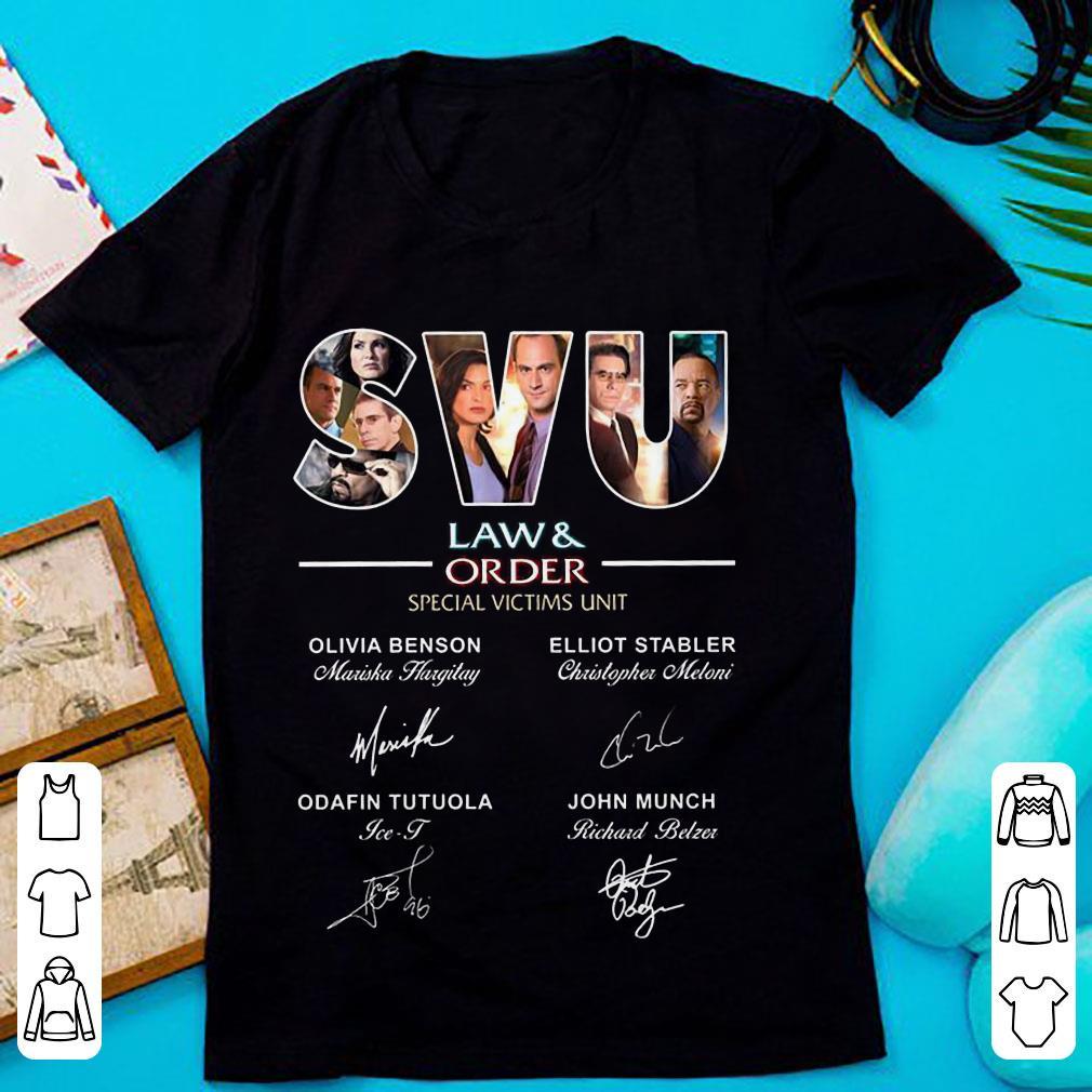 SVU Law & Rrder special victims unit signature shirt